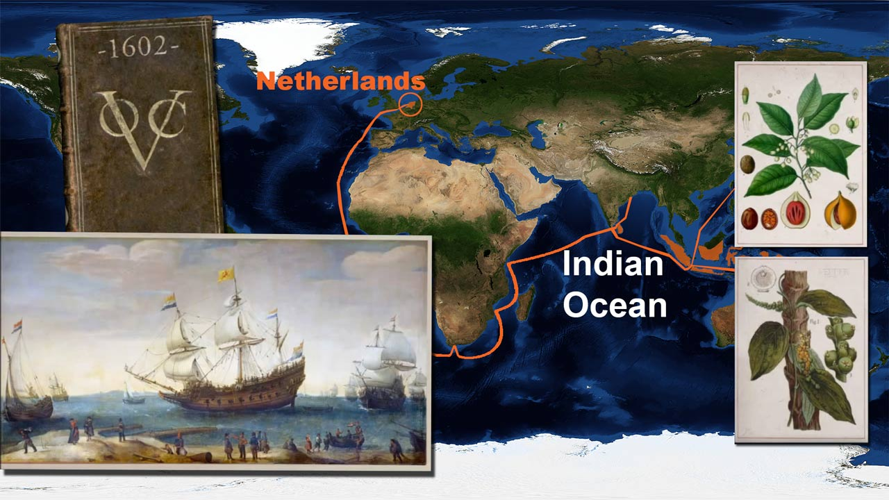 Dutch East India Company spice trade
