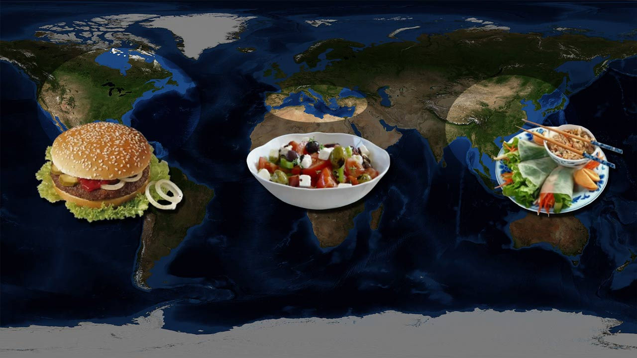 worlds main food patterns