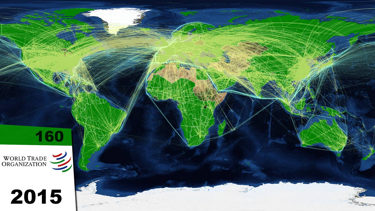 map world trade routes sea air internet