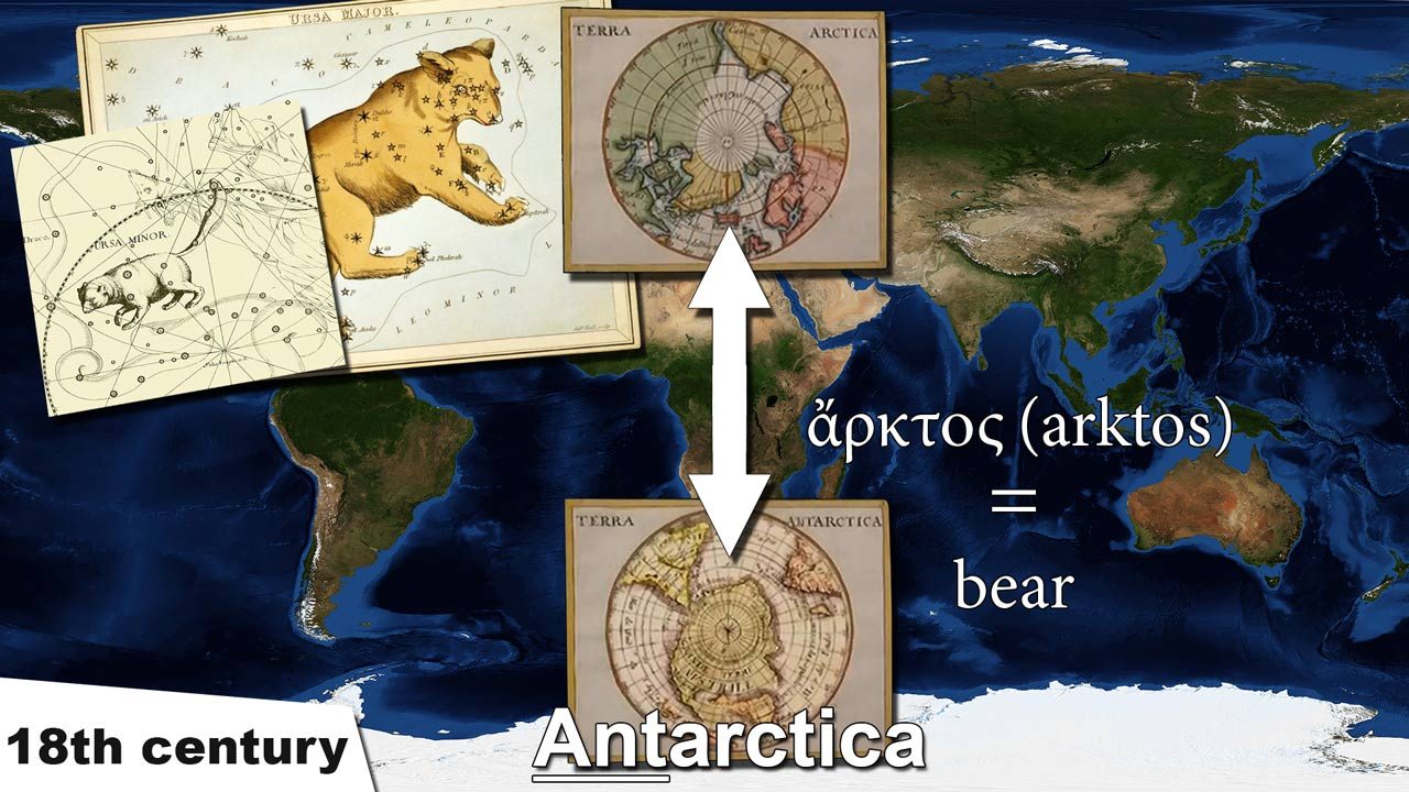 Antarctica naming name