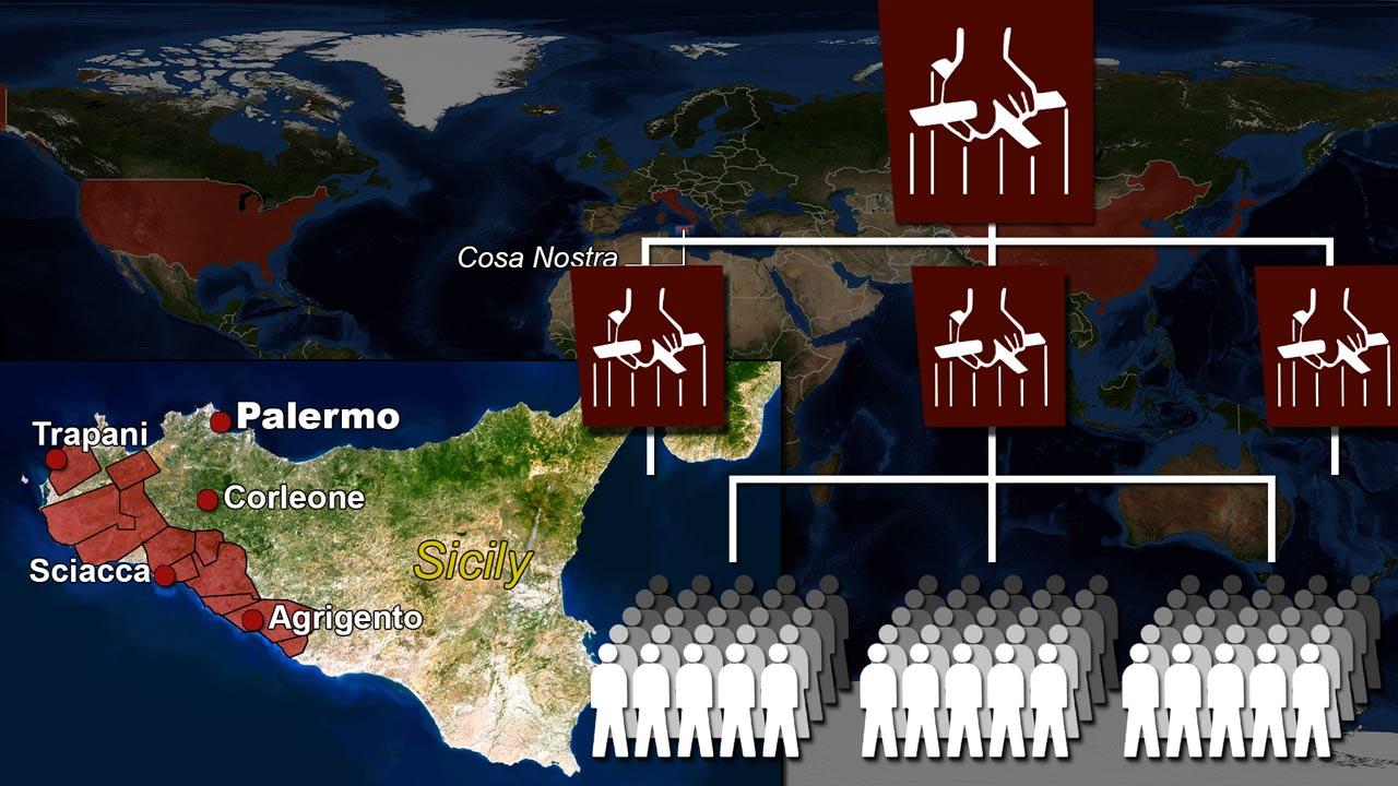 Cosa Nostra Sicily Mafia structure