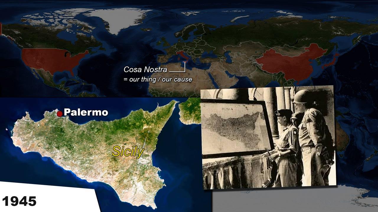 Formation of Cosa Nostra Sicily Mafia